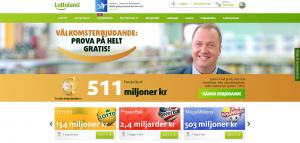 LottoLands hemsida